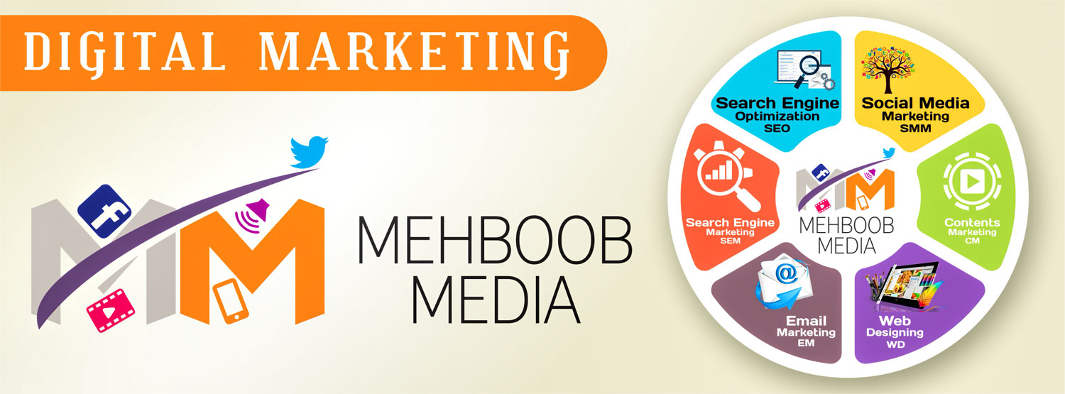 Mehboob Media, Web Design, Development and Marketing
